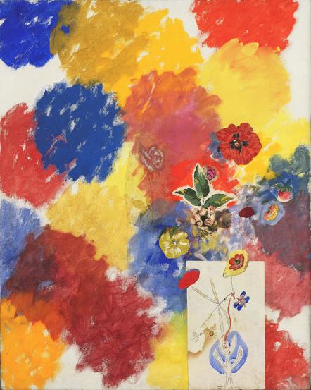 Tancredi Parmeggiani, Fiori dipinti da me e da altri 101%, 1962