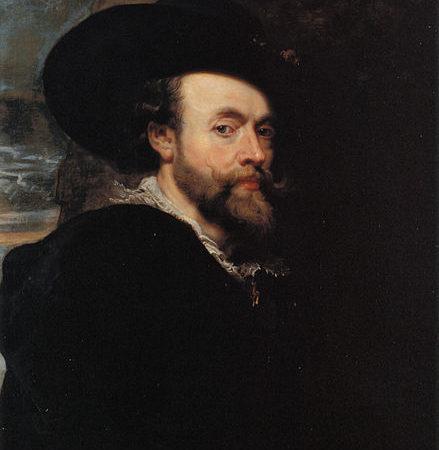 Autoritratto, Rubens, 1623