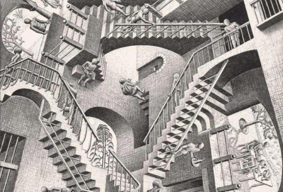 Nella mente di Escher (che confusione!)