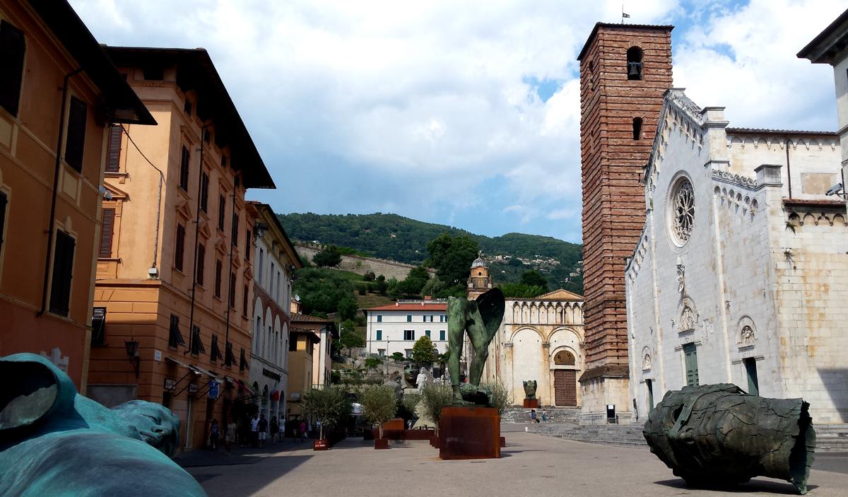 Igor Mitoraj, Pietrasanta, Toscana
