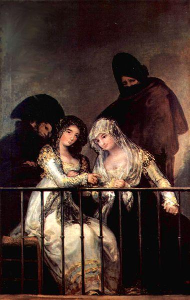 Francisco Goya, Majas al balcone, 1808-1814