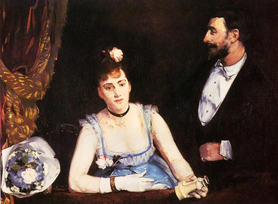Eva Gonzales, un palco al Théâtre des Italiens, 1874