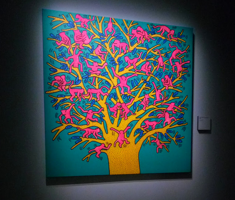 Keith Haring, scimmia