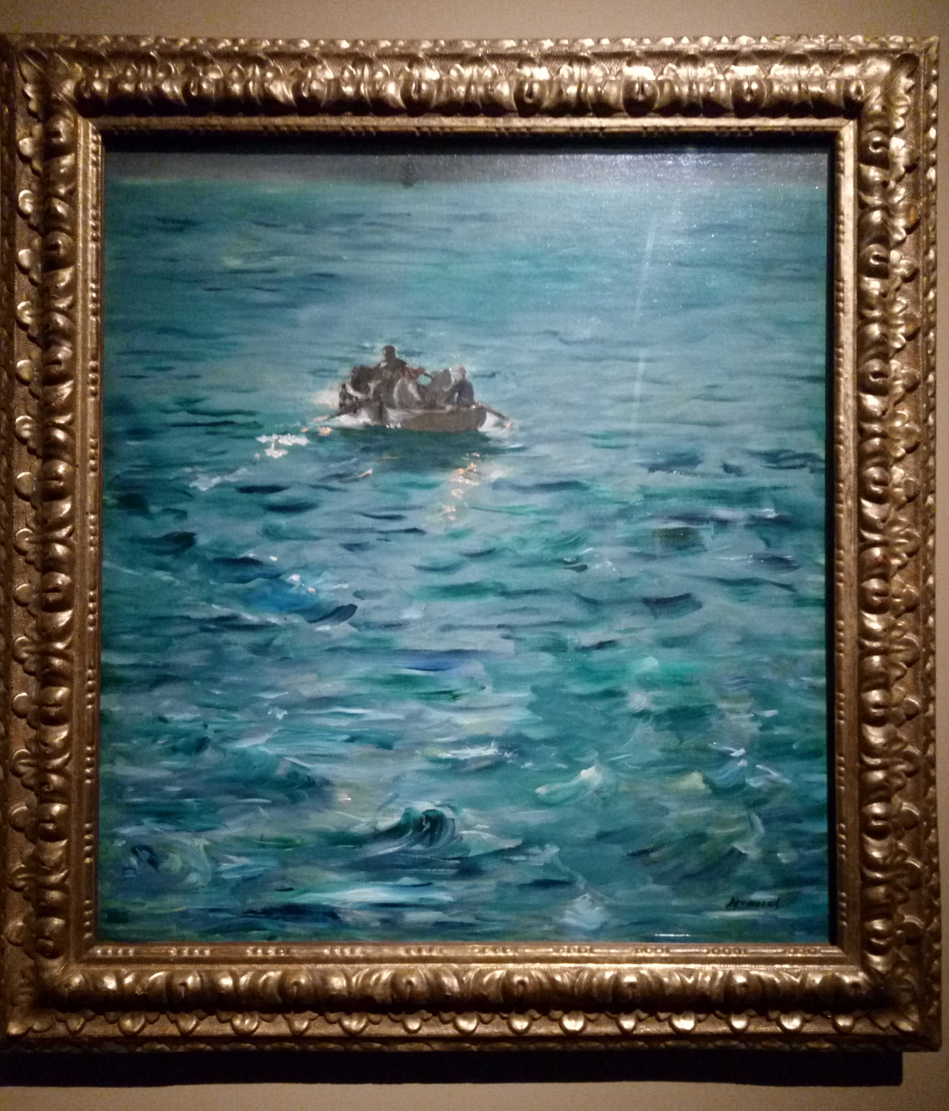 Edouard Manet, Fuga di Rochefort, 1881