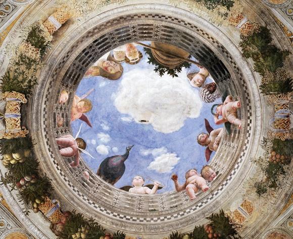 Andrea Mantegna, Camera degli Sposi, Mantova, 1465-74