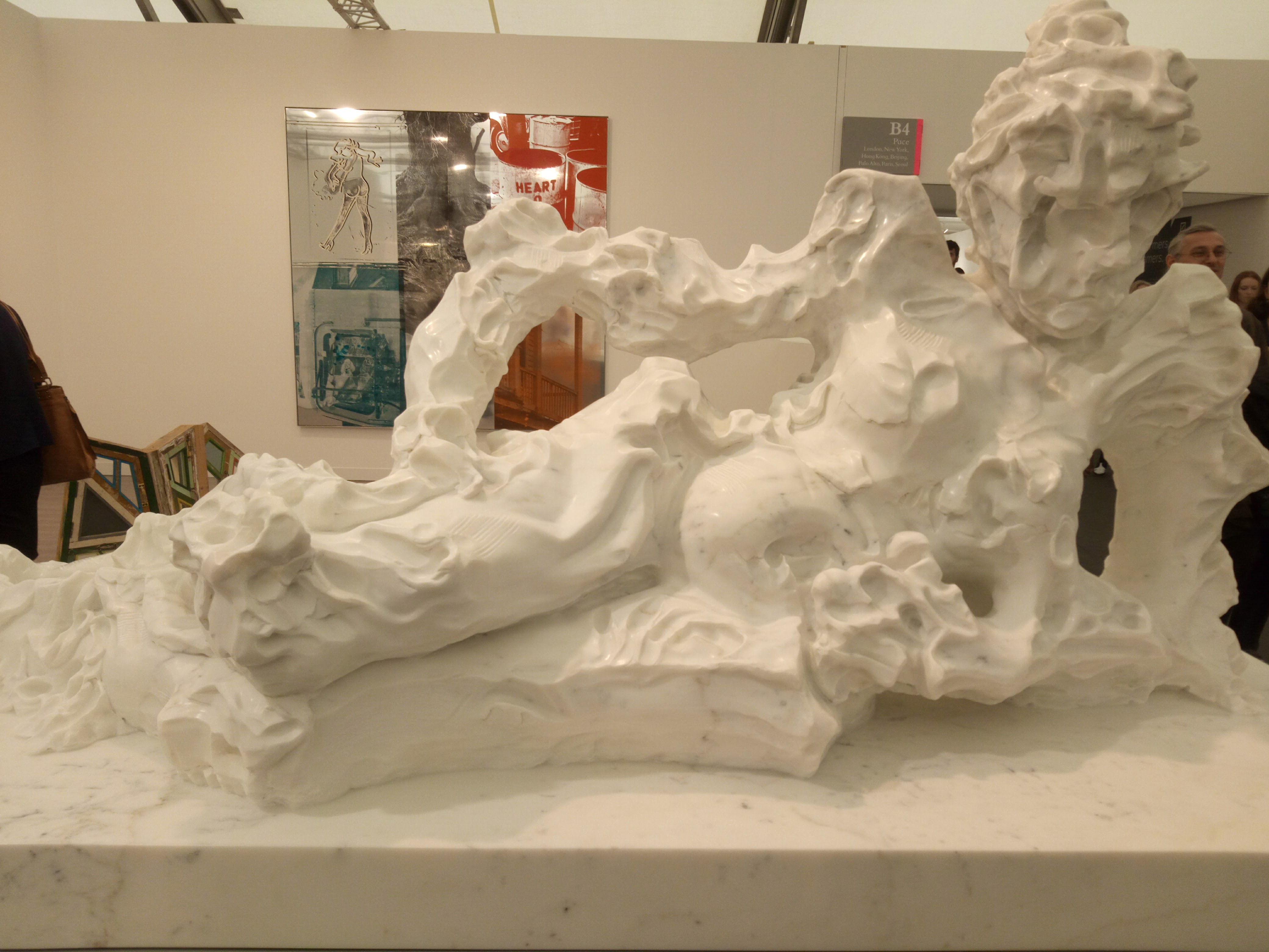 Kevin Francis Grey, The Reclining Nude, 2016, Pace gallery, Frieze London, Regent's Park