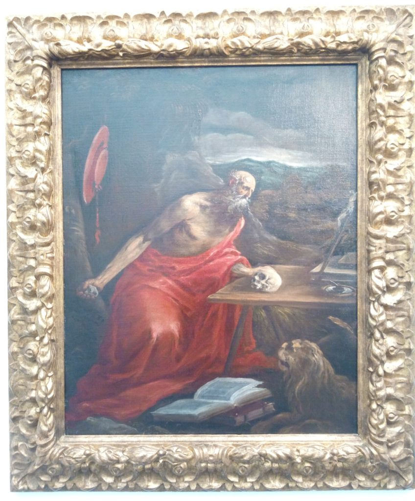 Penitent of St. Jerome, Jacopo da Ponte called Jacopo Bassano (1510-1592), Robilant + Voena, Frieze Masters, Regent's Park