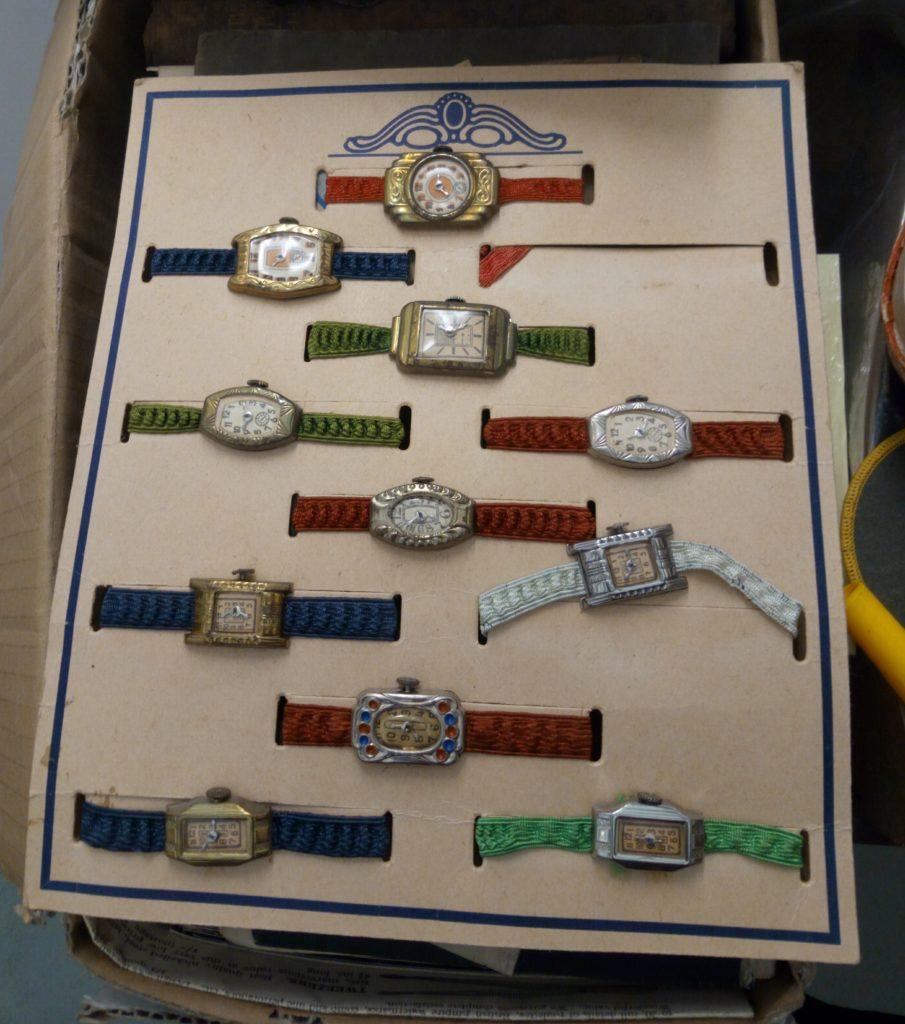Peter Blake's studio, watches collection, Frieze Masters, Regent's Park