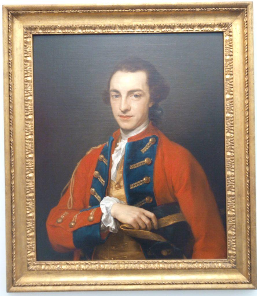Pompeo Batoni, portrait of George Craster, 1734-1772, Roboant + Voena, Frieze Masters, Regent's Park