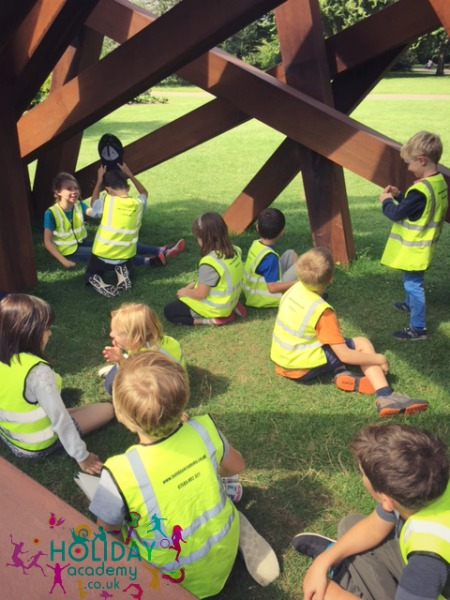Trip to Frieze art sculptures Regents Park, courtesy of Holiday Academy London