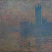 Houses of Parliament 1903Oil paint on canvas 810 x 920mm Musée Malraux