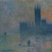 Houses of Parliament, Fog Effect 1903-1904Oil paint on canvas 813 x 924 mm Metropolitan Museum of Art