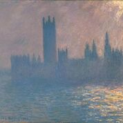Houses of Parliament, Sunlight Effect 1903Oil paint on canvas 1048 x 1156 mm Brooklyn Museum of Art