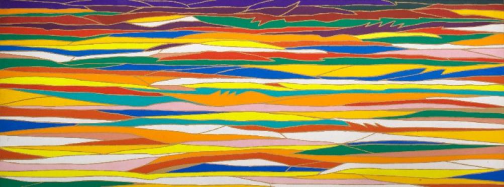 Tre acque, Piero Dorazio, 1972