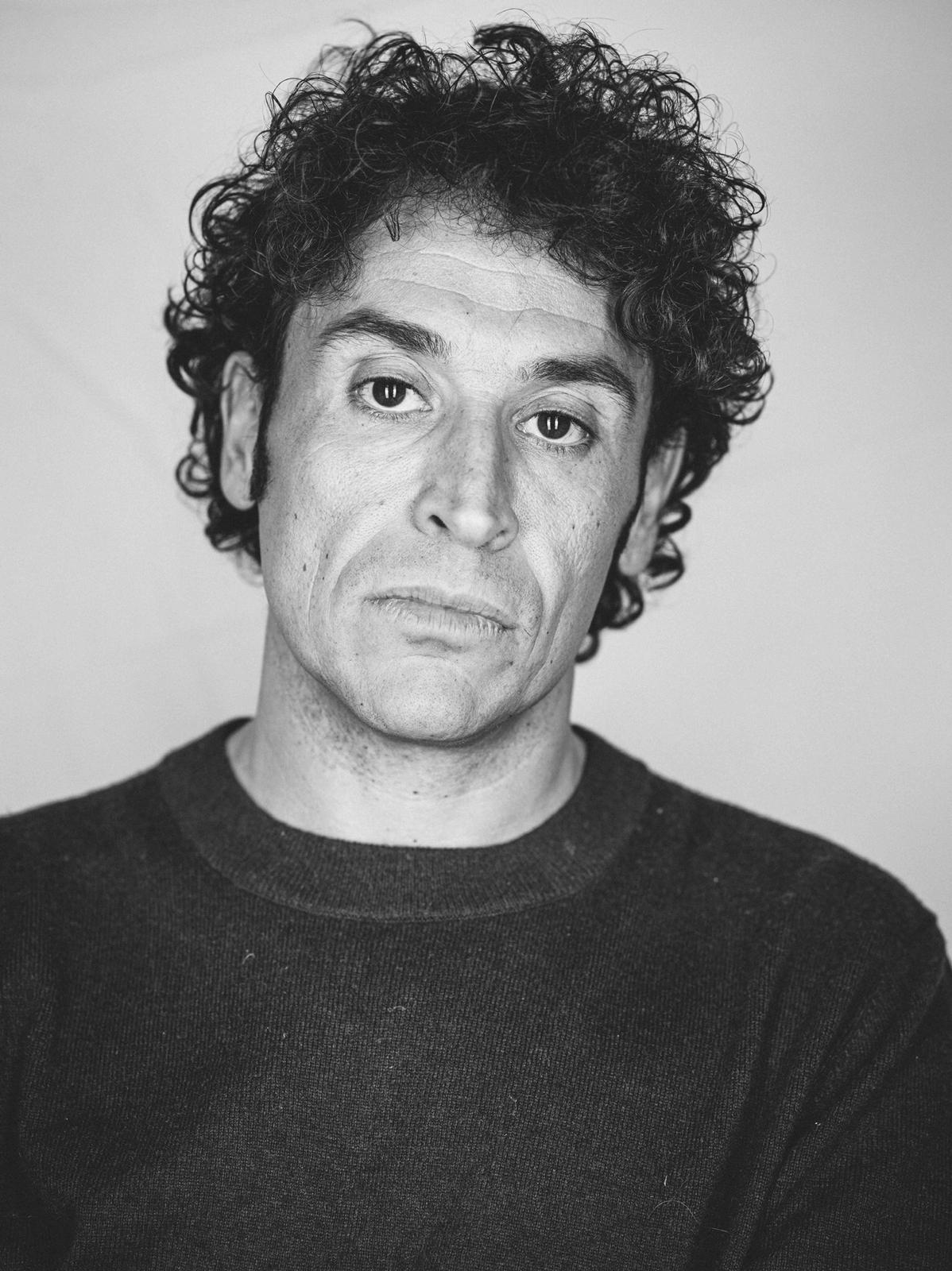 Giorgio Galimberti Portrait by Max & Douglas