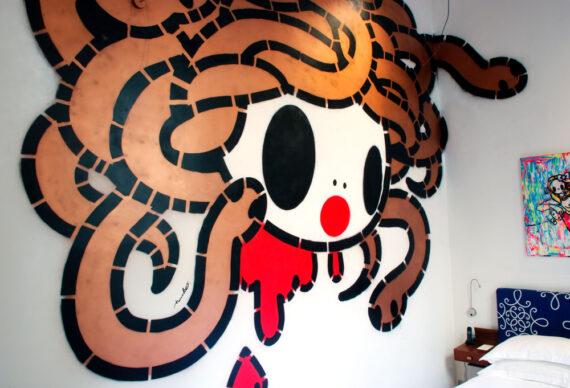 Una galleria d'arte nascosta, al Vik Gallery Milano